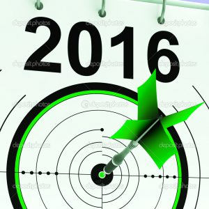2016 Calendar Showing Planning Annual Projection And Future Budget