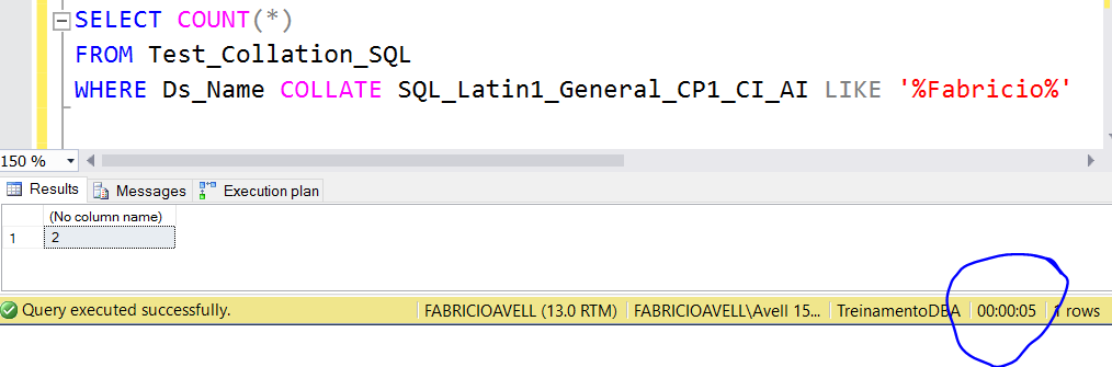 """Improve the performance of a query that uses """" like '%String"""